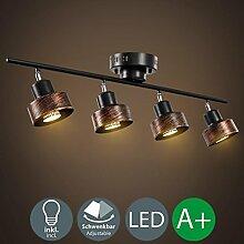 LED Strahler Spotlight Retro Industrie Wand Spot