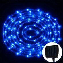 LED Streifen licht Solar lichterkette Außen mit