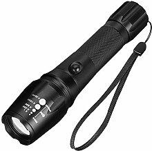 LED Tactical Flashlight, Handheld-Taschenlampe mit