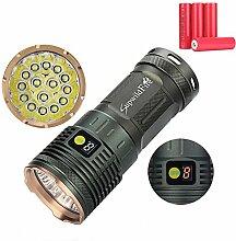 LED Taktische Taschenlampe, Ulanda Superhelle