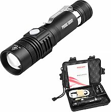 LED Taktische Taschenlampe, Ulanda Zoombar