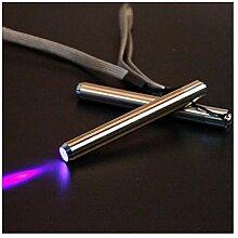 LED-Taschenlampe aus Edelstahl Mini-Taschenlampe
