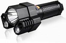 LED Taschenlampe Fenix TK76 akkubetrieben 800 g Schwarz FENTK76
