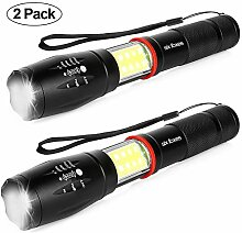LED Taschenlampe, Six Foxes Extrem Hell 1600 Lumen