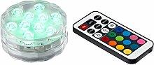 LED-Teelicht, Bunt, Kunststoff, Farbwechsler,