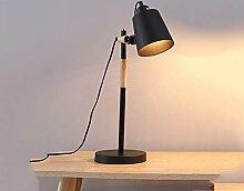 LED Tischlampe Holz Designer Tischlampe Leselampe