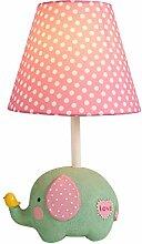 LED Tischlampe Kinderlampe aus Design Elefant E27
