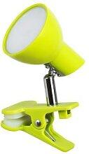 LED Tischleuchte grün Klemmleuchte