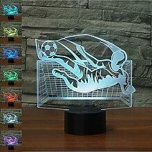 LED Touch Lampe Nachtlicht 3D Visualisierung
