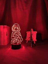 LED-Touch-Sensor Farbwechsel Schreibtischlampe 3D