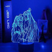 LED-Touch-Sensor Farbwechsel Schreibtischlampe