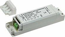 LED Trafo Netzteil 50Watt 12V= für Einbaustrahler
