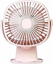 LED Tragbarer Ventilator USB Mini Elektrischer Ventilator Nachtlicht Tischventilator 2-Gang/3-Gang Wind Einstellbar Lüfter Fan Kühler für Zuhause, Wandern, Radfahren, Reisen, die Picknick, die Outdoor-Aktivitäten |1500mAh| Von JAMINY (3-Gang)
