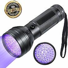 LED UV Schwarzlicht Taschenlampe mit 51