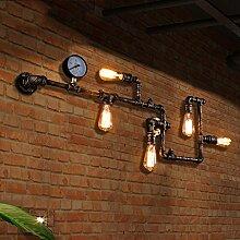 LED-Vintage-Wandleuchte Moderne Mode Eisen