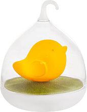 LED Vogel Tisch Lampe orange Touch Dimmer USB Deko