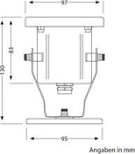 LED Wand-Strahler für außen, 5W, 130lm, IP55,