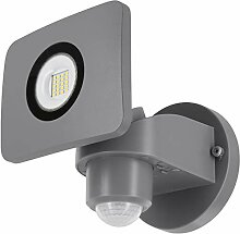 LED Wandfluter 20W IP54 mit Bewegungsmelder +