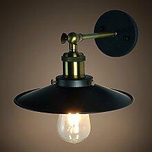 LED Wandlamp moderne Eisen Retro Wandlampe Wind