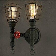 LED Wandlamp moderne Lampenschirm Wandlampe Loft