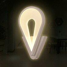 LED-Wandlampe Acryl Kreative Mode