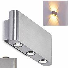 LED Wandlampe Lente aus Aluminium für Innen u.