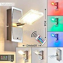 LED Wandlampe Parnu, Wandleuchte aus Metall in