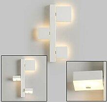 LED Wandleuchte 3-Flammig Modern Design Weiß