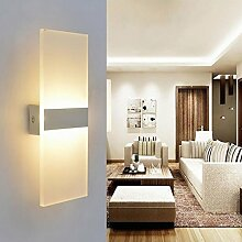 LED Wandleuchte Acryl Wandlampe Warmweiß modern