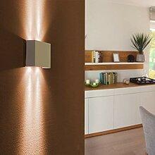 LED-Wandleuchte aus Aluminium | Wandlampe in Weiß