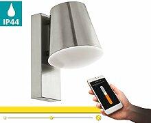 LED Wandleuchte außen CALDIERO-C von EGLO - Smart