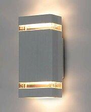 LED Wandleuchte außen HANA 2x GU10 IP54