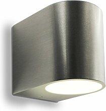 LED Wandleuchte Außenleuchte 1-Flammig Aluminium