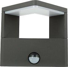 LED Wandleuchte BONITA mit Bewegungsmelder, 3000 K, 10W, 600 Lumen, IP 54