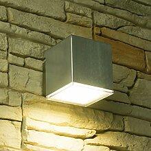 LED Wandleuchte CUBE 2, Außenleuchte,