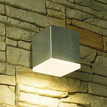 LED Wandleuchte CUBE, Außenleuchte, Außenlampe,