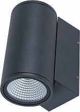 LED Wandleuchte DOBLE 1x13W 650 Lm lichtstark IP54