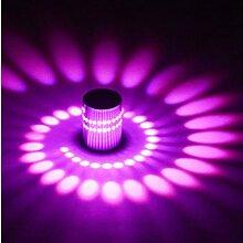 LED Wandleuchte Effektleuchte Flurlampe 3W