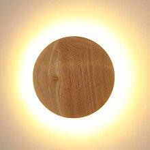 LED Wandleuchte holz,Moderne Wandlampe Holz