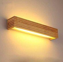 LED Wandleuchte Holz Wandlampe innen LED