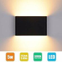 LED Wandleuchte Innen Wandlampe Wandstrahler 14cm