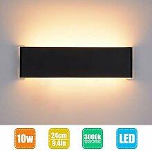 LED Wandleuchte Innen Wandlampe Wandstrahler 24cm