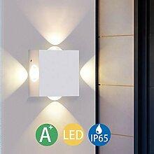 LED Wandleuchte Innen Warmweiß, Elitlife LED