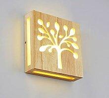 LED Wandleuchte innen Weißes Licht/warmes Licht