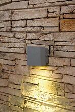 LED Wandleuchte Ivo 1, 1-flammig, 1x1W, gelb, IP44