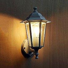 LED Wandleuchte Kingston für Außenbereich