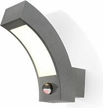 LED Wandleuchte Line PIR Wandlampe Außenleuchte