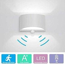 LED Wandleuchte mit Bewegungsmelder Innen Up Down