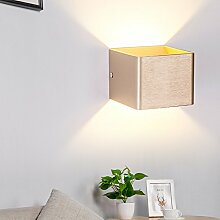 LED Wandleuchte Modern Eckig Design Wandlampe