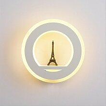 LED Wandleuchte Moderne Aluminium Acryl Nacht Flur